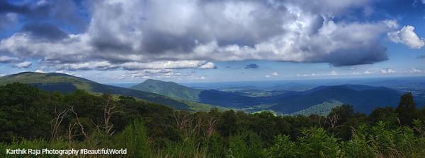 Hemlock Springs Overlook, Shenandoah National Park, Virginia