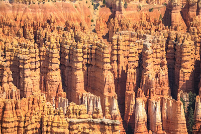 Hoodoos, Inspiration point, Bryce Canyon National Park, Utah - 8100 feet
