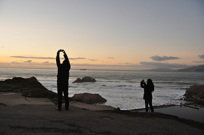 Sutro Baths, San Francisco, Ocean