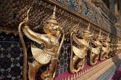 Garuda Temple Guards