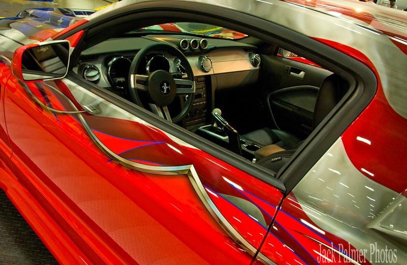 A Sandersons Custom Mustang @ AutoRama
