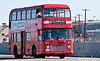 Julia Jones passing through Rockwall on the Brit-Tour-Bus.
