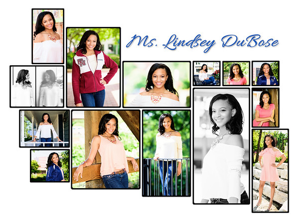 Lindsey DuBose Senior Portrait Shoot