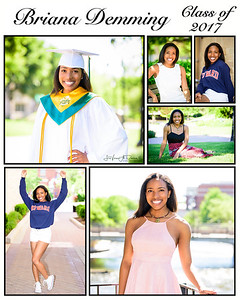 Briana Demming Senior Portrait Shoot Recap