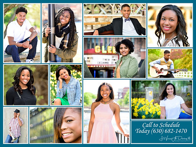 Photography by LeVern A. Danley - Student Portrait Sessions 2017 Recap