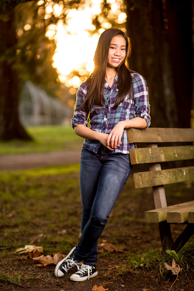 Seattle Senior Portrait Photographer Nakean Wickliff