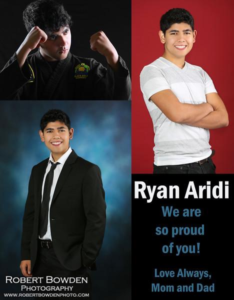 Ryan Aridi Yearbook Full Page