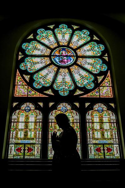 Senior Portraits | St Marys Oh | Religious