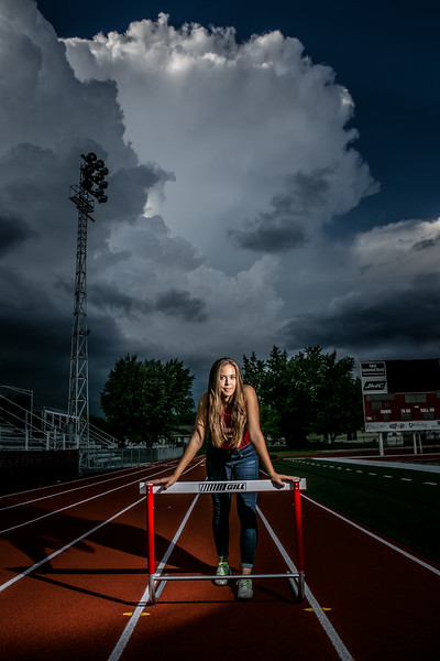 Best Senior Photographers | Track  | St Henry OH