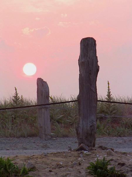 <center>SUNRISE OVER THE GURNET <i>(2005)</i> <p></p> </center>
