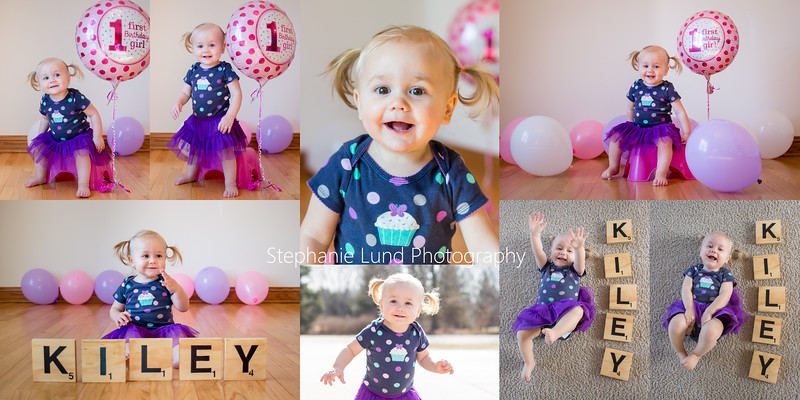 Happy 1st birthday, Kiley Grace!