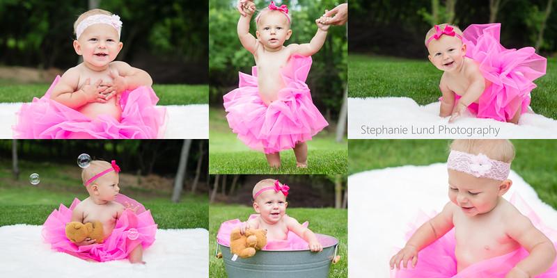 Happy 1st Birthday, Kinsley!