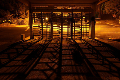 Pedestrian Gate Shadows