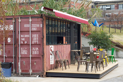 A Container restaurant