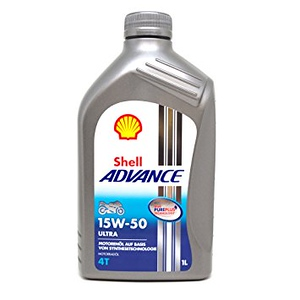 Shell ADVANCE Ultra 4T 15W-50 1L: 7391699