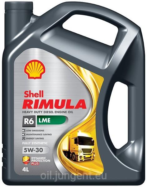 SHELL Rimula R6 LME 5W-30 4L