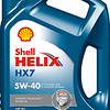 Shell HELIX HX7 5W-40 4L EURO 7779999