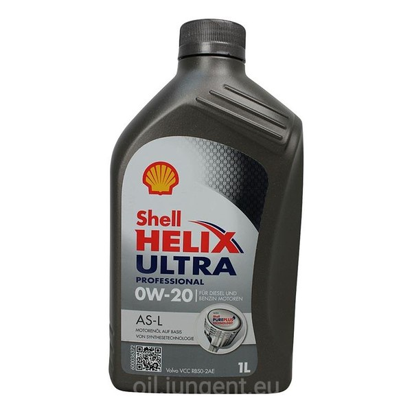 Shell HELIX Ultra Professional AS-L 0W-20 VCC 1L: 7207799