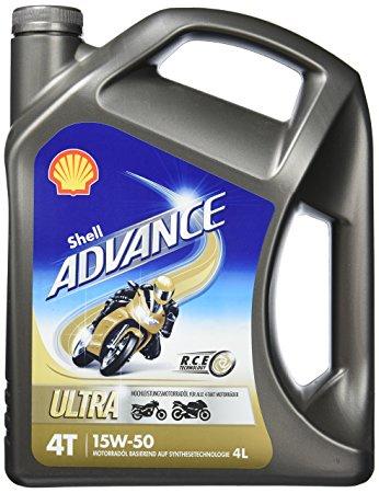 Shell ADVANCE 4T Ultra 15W-50 4L: 7391799