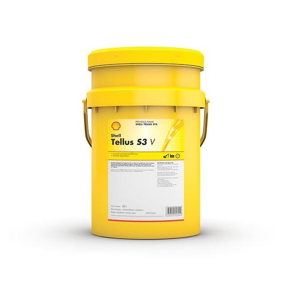 Shell Tellus S3 V pail pack image