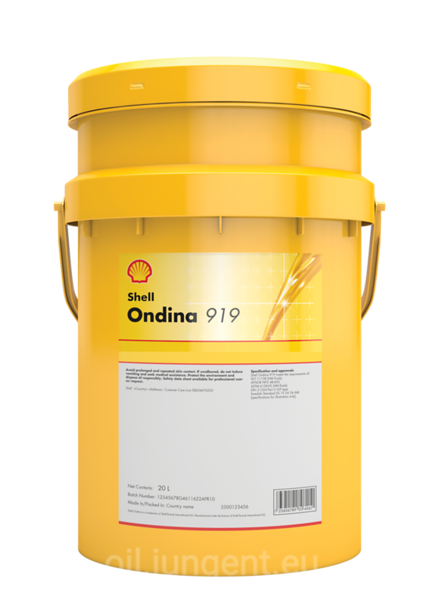 Shell ONDINA 919 20L:(7444299)