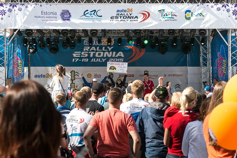 Most stylish jump Award ceremony in Tartu city