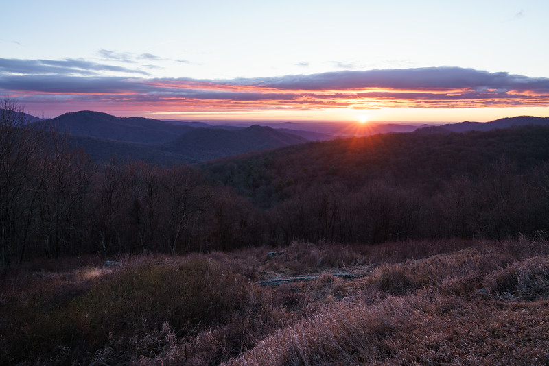 Winter Glow || Shenandoah National Park, VA