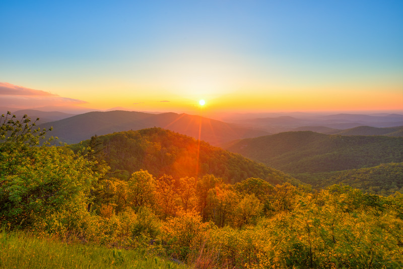 Blue Ridge Dawn || Shenandoah National Park, VA