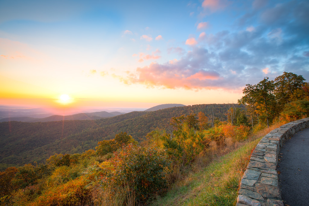 Skyline Color || Shenandoah National Park, VA