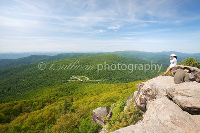 View from atop Mary's Rock in Shenandoah National Park
