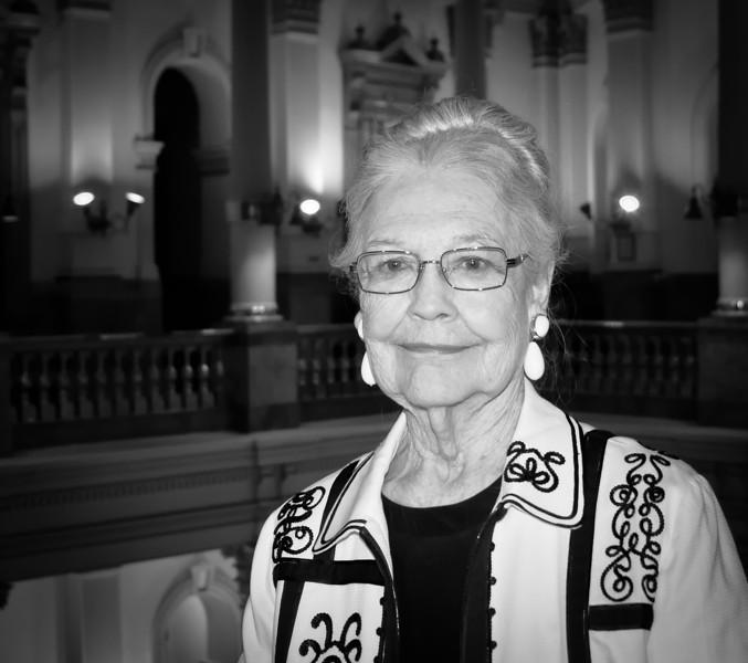 Carol Keller, capitol building tour guide
