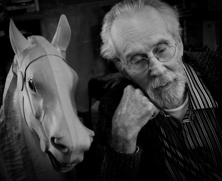 Will Morton, carousel conservator