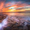La Jolla Stunning Sunset Colors