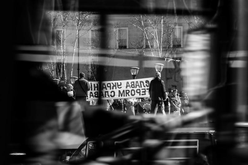 Madrid Protest