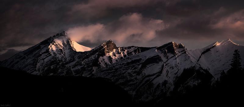 Mountain Banner - Kananaskis, Alberta
