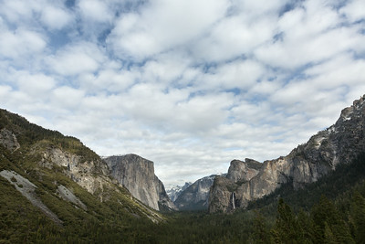 Tunnell View - Yosemite National Park