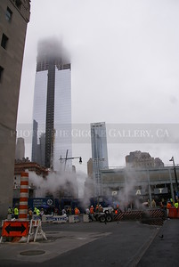 Clouds on the ground; World Financial center, NYC, 2012