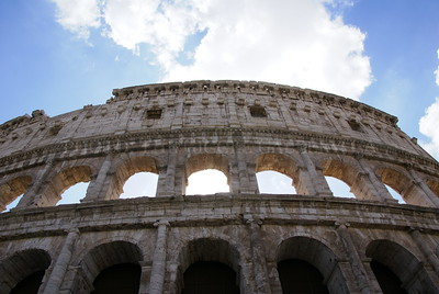 Collossal; The Collesium, Rome, 2015