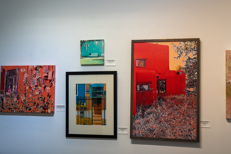 Some of the work by featured artist, Maureen MacDonald