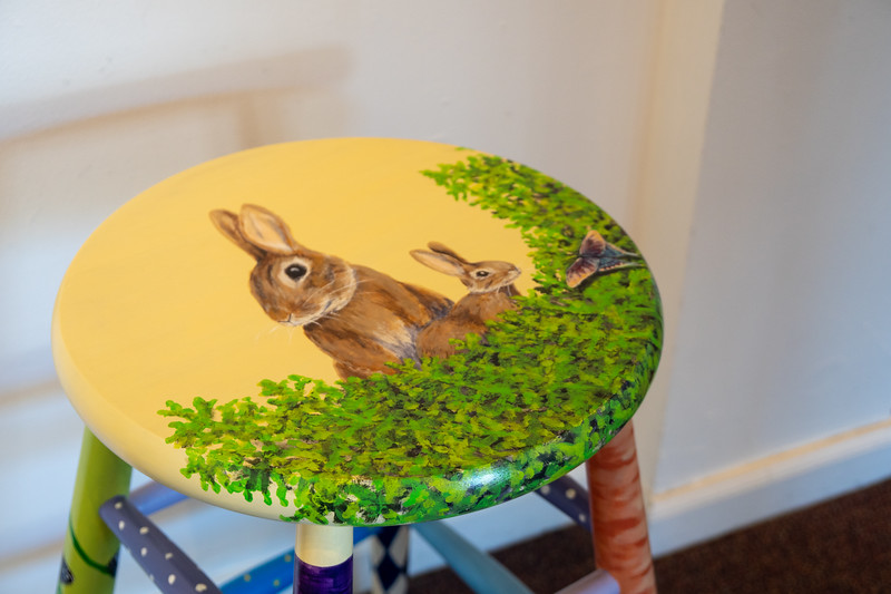 """Crazy Leg Bunnies"" by Laura Ralston"