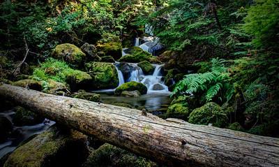 Cascades across the road  Read more @ the Blog LikeTheOcean