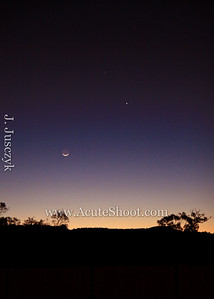 Jaimie took this photo one evening in September 2008 looking towards the Blue Mountains after sunset.