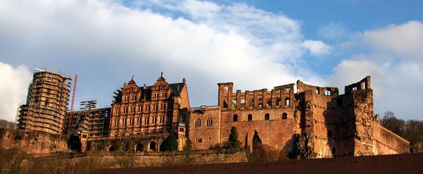 HeidelbergCastleFromTown