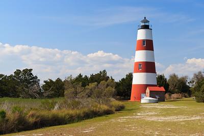 Sapelo Island lighthouse March 2007