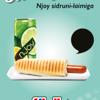 NJoy + hotdog plakat A4