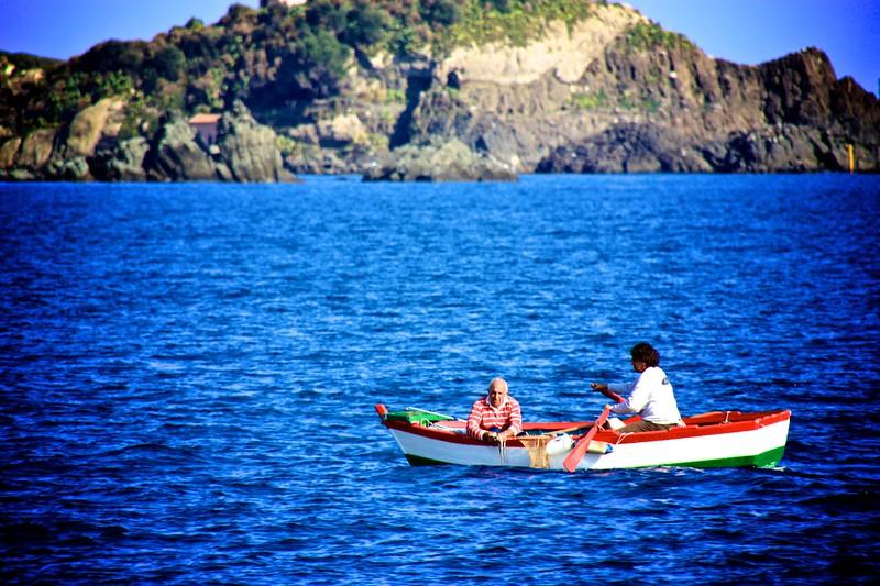 Sicilian Fishing Boat