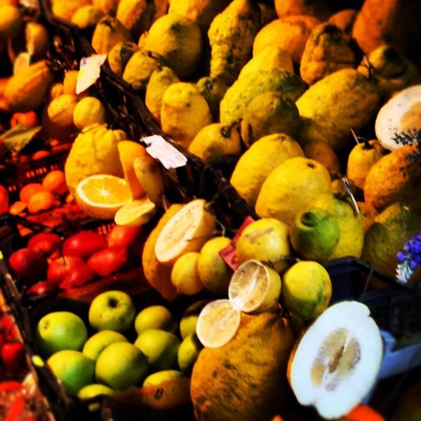 Sicilian Fruit Stand