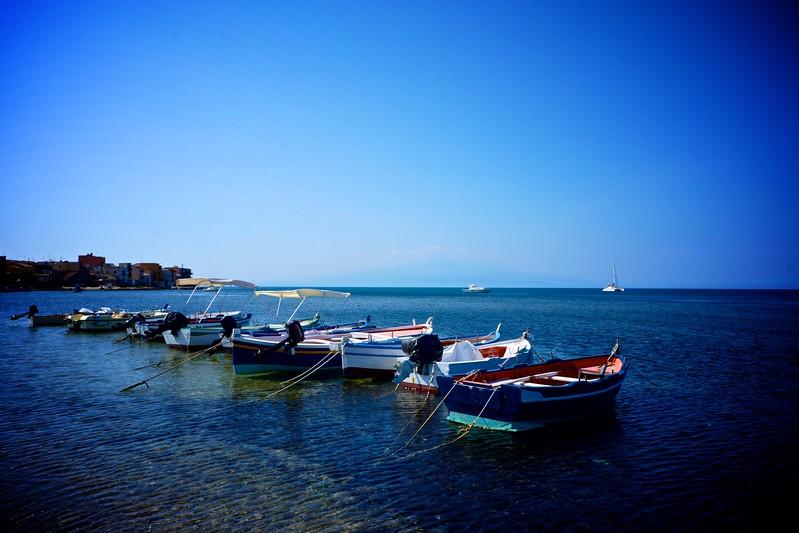 Boats of Brucoli