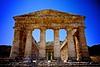 Segesta Tempio Greco Front
