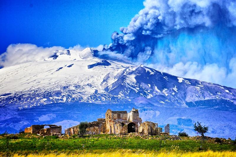Mt. Etna Smoking